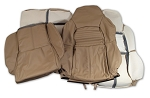 1994-1996 Corvette Leather Seat Covers for Standard Seats. (Full Set)