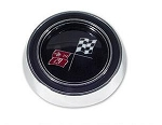 1965 - 1966 Corvette Horn Button for Standard Column