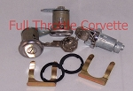 1959-1964 Corvette Door and Ignition Lock Set with Octagon Keys