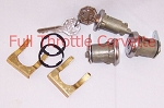 1966 Corvette Door and Ignition Lock Set with Octagon Head Keys