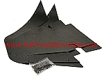 1968 - 1982 Corvette A-Frame Dust Cover Set (Includes Fasteners)