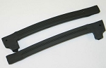 1969 Late - 1977 Corvette Door Glass Rear Weatherstrip, US Made
