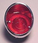 1963 - 1967 Corvette Tail Lamp - Outboard LH (Trim Parts)