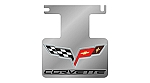 2005 - 2009 Corvette Exhaust Enhancer Plate C6 with Logo and