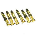 1968-1974 Corvette Courtesy Pin Switch Terminals (Set of 6)