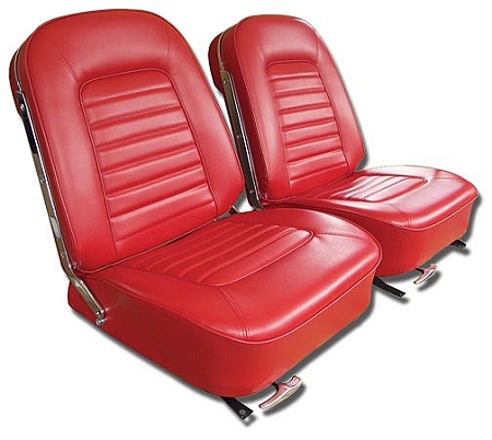 1966 Corvette Vinyl Seat Covers