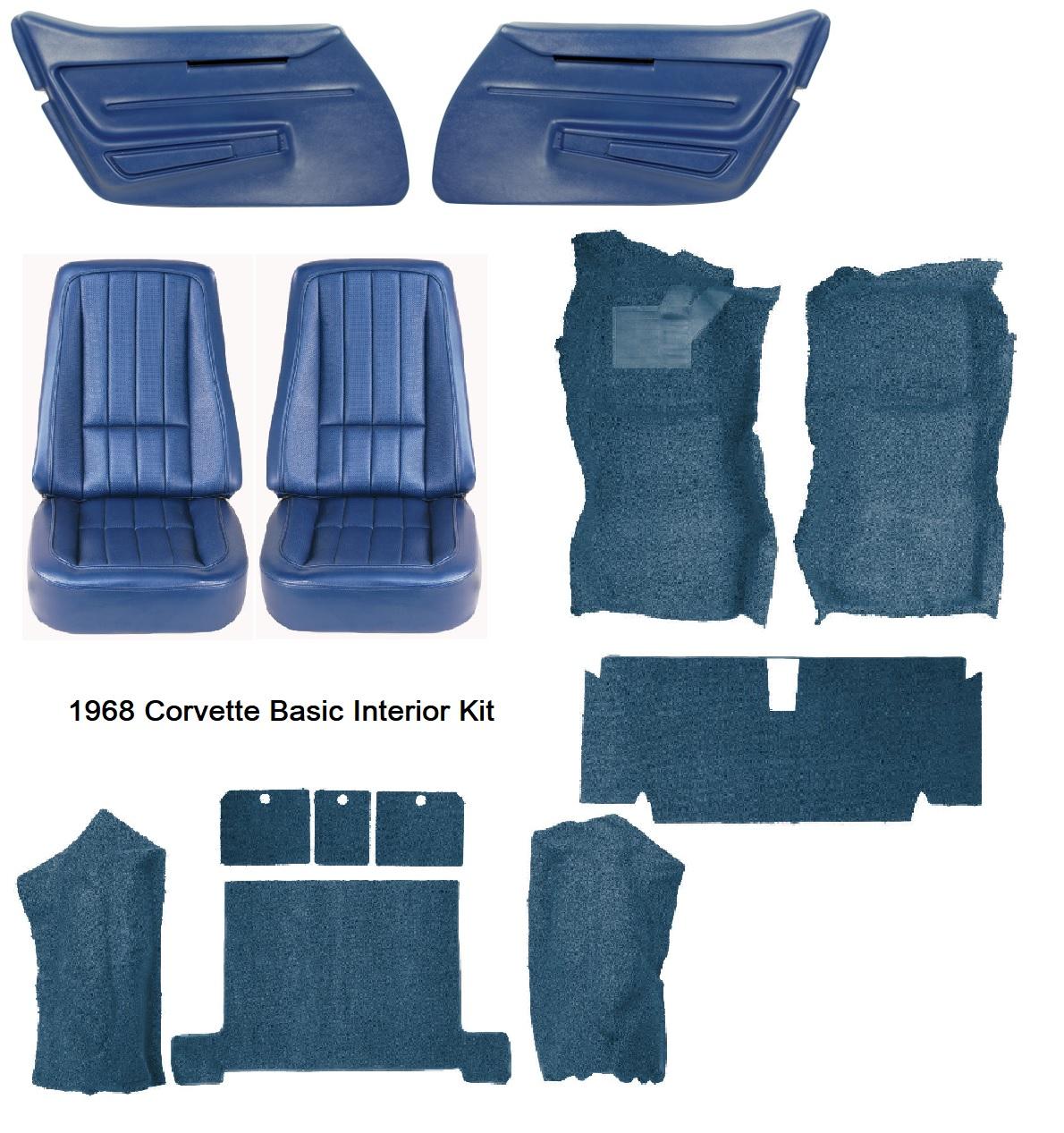 1968 Corvette Interior Package