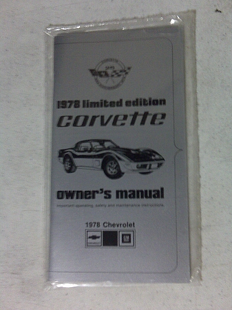 corvette owners manual for 1978 pace car 1968 Chevrolet Camaro SS 1969 Camaro Owners Manual