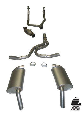 Magnaflow Catalytic Converter >> 81 Corvette Aluminized Exhaust System (W/ A.I.R. Tube In Converter)
