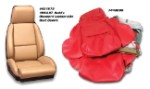 1984 - 1988 Corvette Standard Non-Perforated Leather-Like Seat Covers (full set)