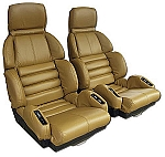 1989-1990 Corvette Sport Seat Leather seat covers (full set)