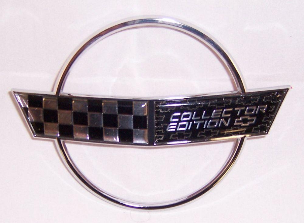 1996 Corvette Collectors Edition Hood Nose Emblem