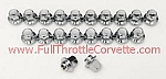 1976 - 1982 Corvette Set of 20 Lug Nuts for Aluminum Wheels