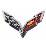 C7 Cross Flags Lapel Pin