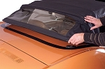 1968-1975 Corvette Decklid Black Protector for Convertible Hard Top