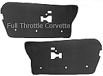 1984 - 1996 Corvette Door Sound Deadener / Insulation