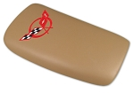 1998-2004 Corvette Console Door in Oak with Red Embroidered Logo