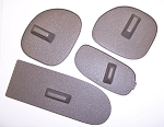 C5 corvette Dash Vent Covers. Set of 4 in Shale Color