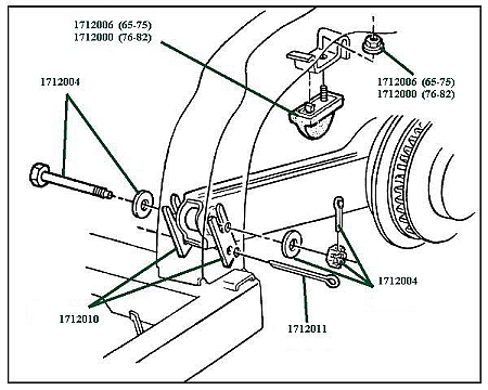 Trailing Arm Diagram