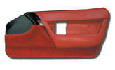 90-93 Corvette Standard Door Panels - Pair