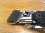Seat Belts with Metal Push Button w/GM Logo, Non-Retractable Lap Only