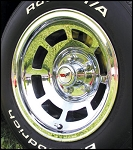 1968 - 1982 Corvette Chrome Aluminum Wheels. Set of 4. 15