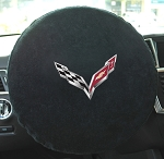 C7 Corvette Steering Wheel Towel
