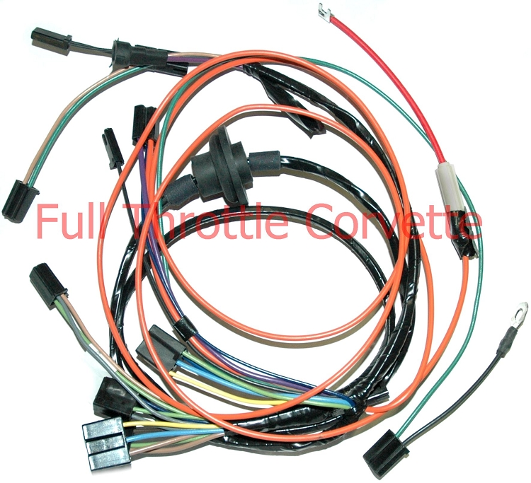 1969 - 1970 corvette air conditioning harness 1970 vw wiring harness #6