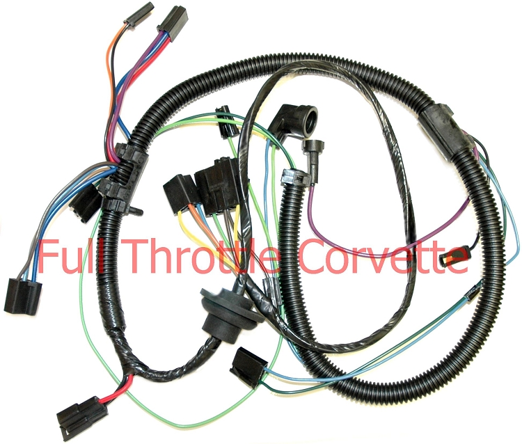 1979 Corvette Air Conditioning Harness Without Aux Cooling Fan. Home > C3 Corvette 6882 Electrical Wiring Harnesses 1979 Air Conditioning Harness Without Aux Cooling Fan. Corvette. 1979 Corvette Wire Harness At Scoala.co