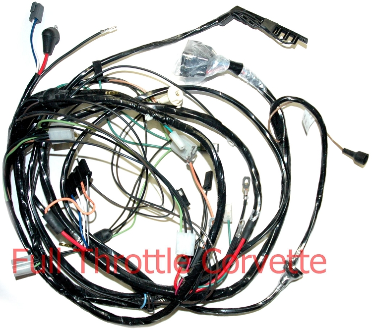 1968 corvette wiring harness 1968 cougar wiring harness diagram 1968 corvette forward lamp harness