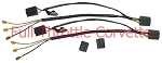 1963 - 1967 Corvette Headlight Bucket Extension Harness Set