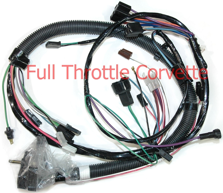 1980 corvette engine harness with auto trans and lockup converter. Black Bedroom Furniture Sets. Home Design Ideas