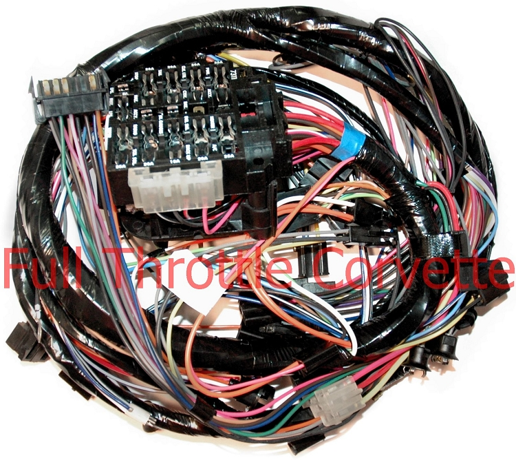 1977 corvette dash harness (2nd design) on Engine Wiring Harness 1960 Corvette Wiring Harness for corvette wiring harness #36