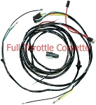 1963 - 1966 Corvette Power Window Harness