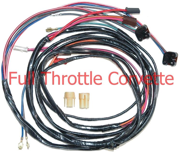1976 corvette 1st design power window harness Automotive Wiring Harness 1976 camaro wiring harness