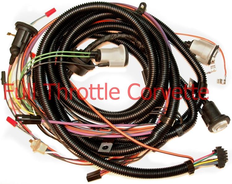 1979 corvette rear body harness with rear window defrost Cable and Wire Harness Wire Harness Assembly