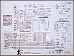 Laminated Wiring Diagram for your 1953 - 1982 Corvette