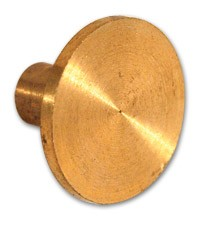 1962 - 1974 Corvette Bronze Distributor Button