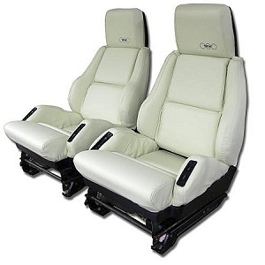 1988 35th Anniversary Corvette Sport Seat Leather seat covers (full set)