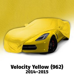2014 - 2017 Corvette Color Matched Indoor Car Cover
