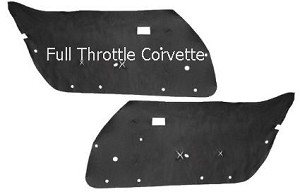 1968 - 1982 Corvette Door Sound Deadener / Insulation Set
