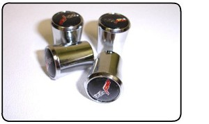 2005 - 2013 C6 Corvette Valve Stem Caps