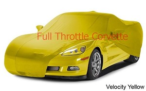 2005 - 2013 Corvette Indoor Color Matched Car Cover