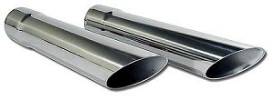 1963 - 1967 Corvette Exhaust Tips - Stainless Steel