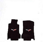 Lloyds Floor mats for C6 Corvette Fits 07Late-09 Ebony