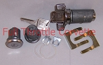 1979-1982 Corvette Door and Ignition Lock Set with Square Head Keys