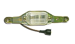 1972-1973 Corvette License Light Assembly