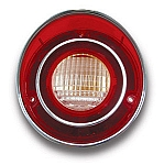 1971L - 1973 Corvette Back Up Light Lens - GM Restoration