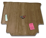Lloyd Mats Rear Cargo Mat for C5 Corvette Coupe in Lt Oak