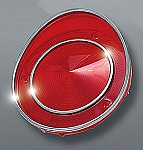 1971E - 1973  Corvette Tail Light Lens - Reproduction